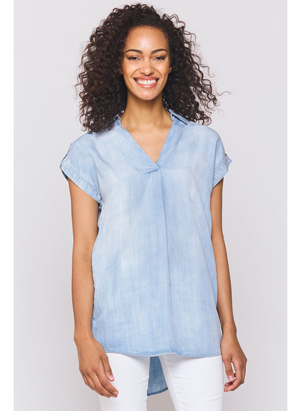 Juniper Chambray Blouse