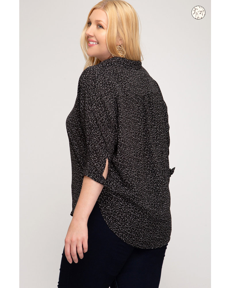 On The Spot Blouse