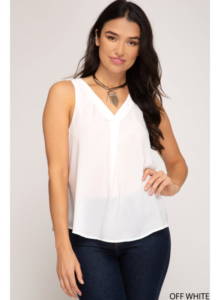 Work It Tank Blouse