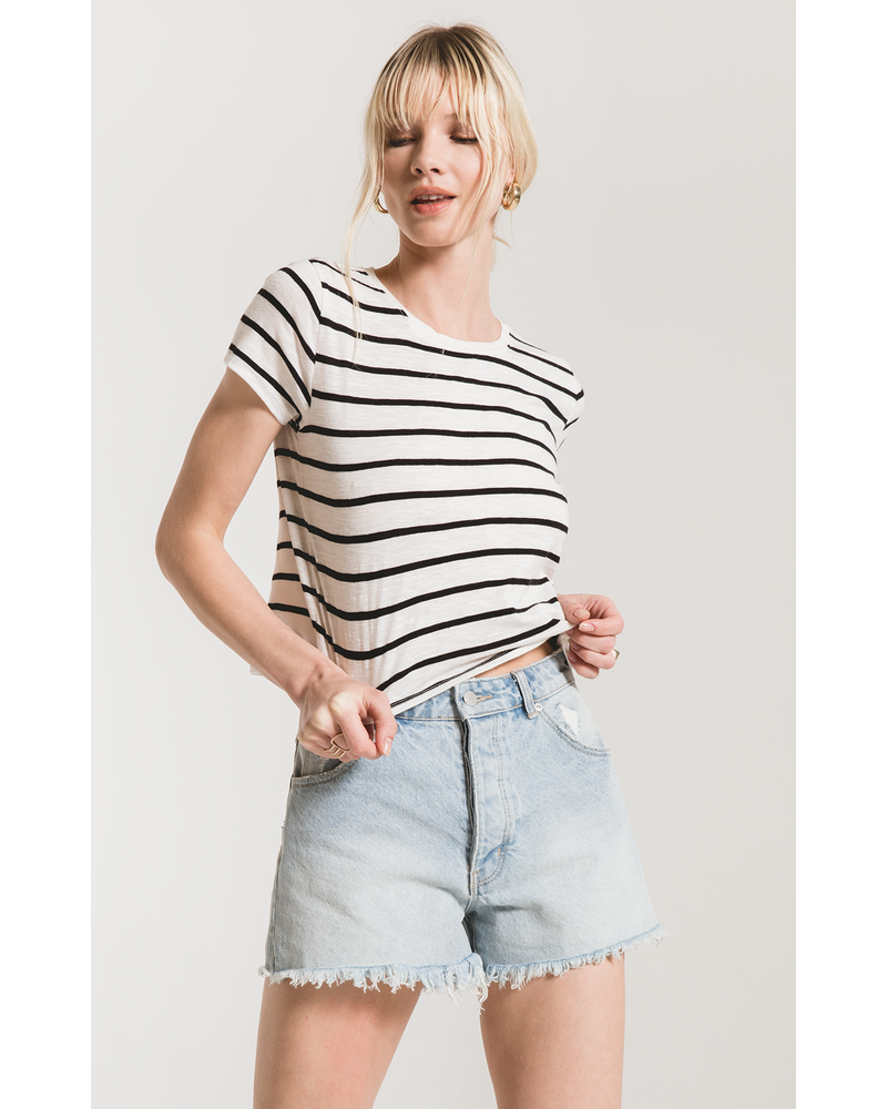 Z Supply Desert Stripe Baby Tee