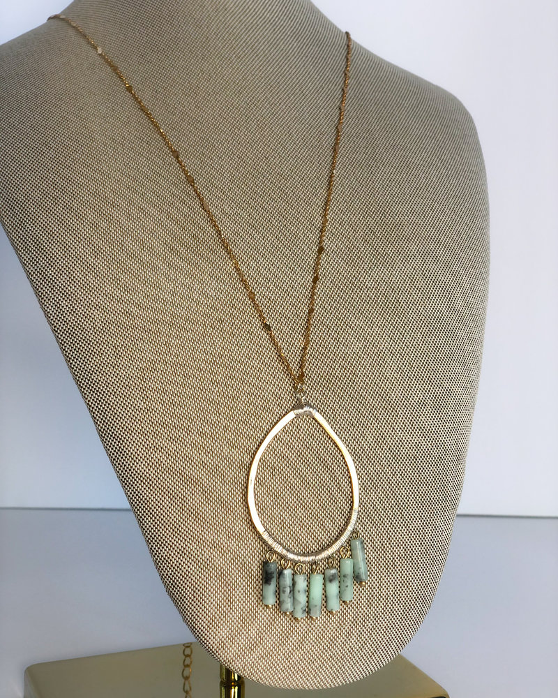 Teal My Love Necklace