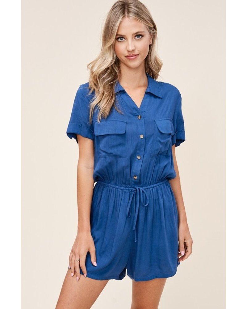 Denim Dreams Romper