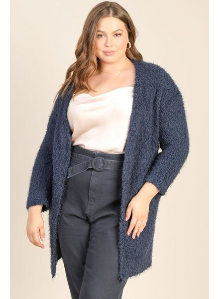 Flash Freeze Fuzzy Cardigan +