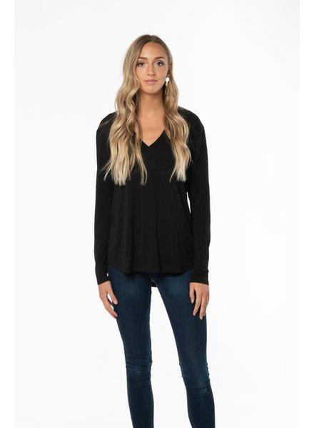 Trim & Tailor Alexis V-Neck Shirt
