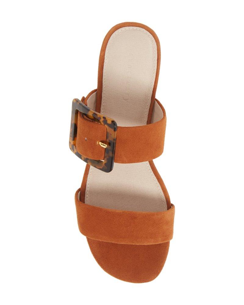 Sanctuary Footwear Shimmy Suede Sandal