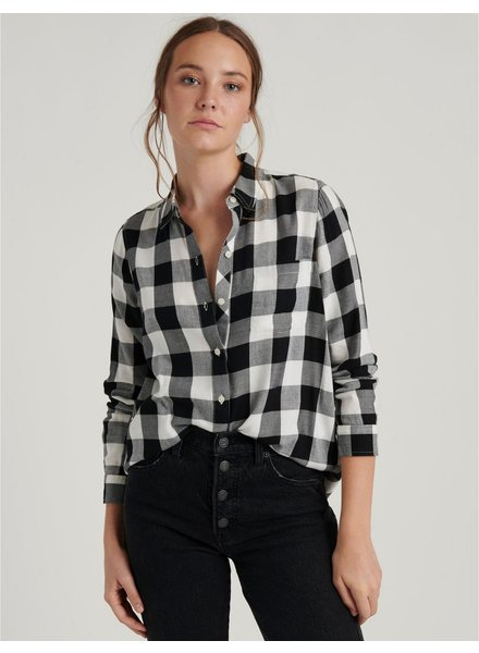 Lucky Brand Classic One Pocket Button Up