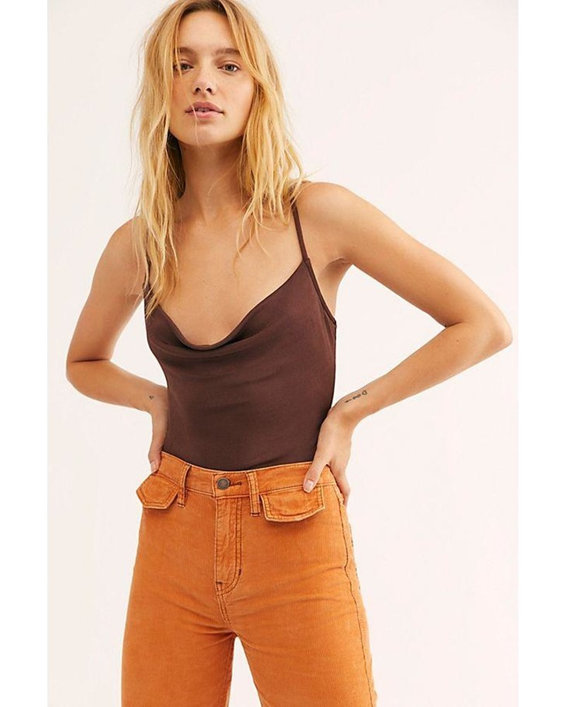 Free People Cowls In The Club Bodysuit