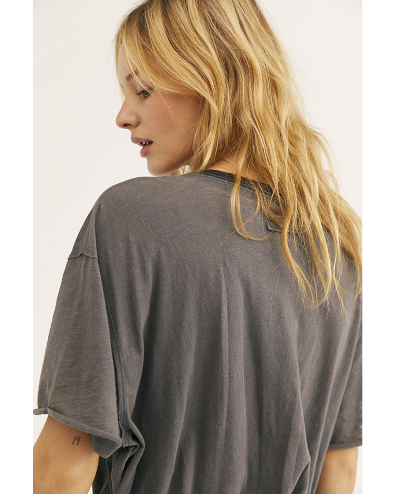 Free People Clarity Ringer Knit Top