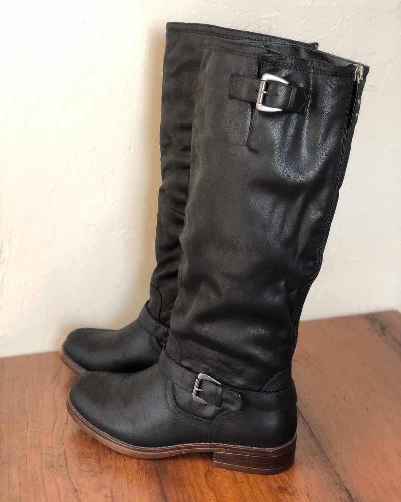 Markee Extendable Calf Tall Boots