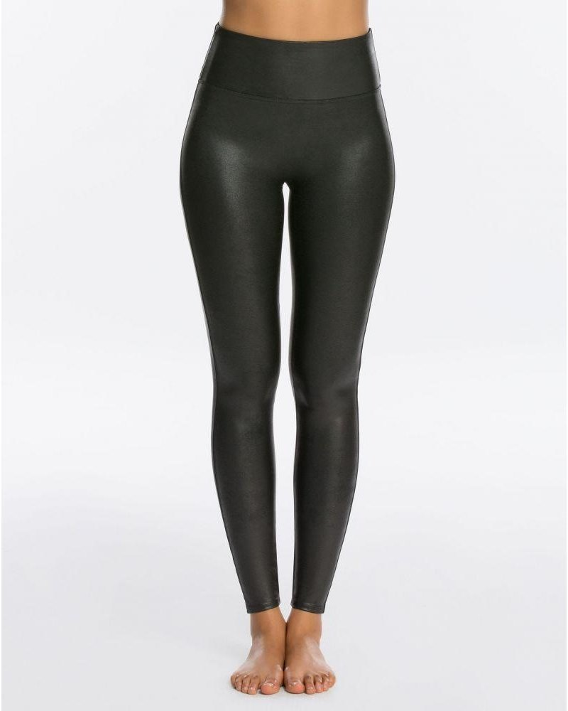 Spanx Faux Leather Leggings Black