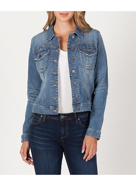 KUT From The Kloth Amelia Denim Jacket Empathetic
