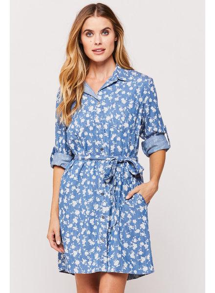 Anita Bloom Shirt Dress