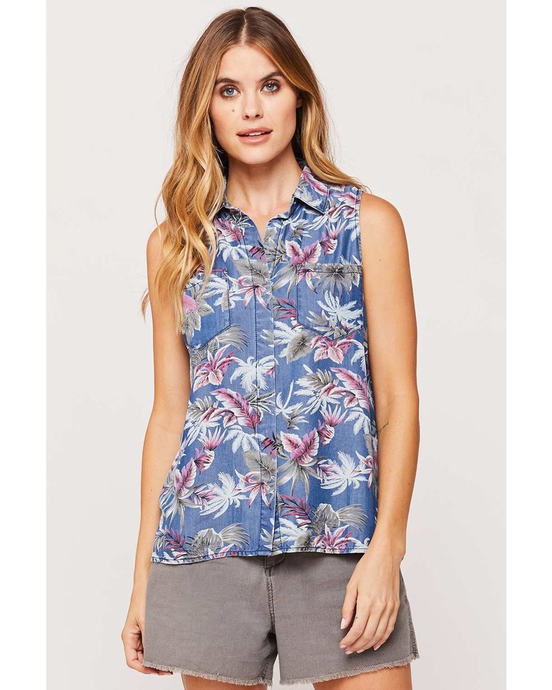 Carol Tropical Blouse
