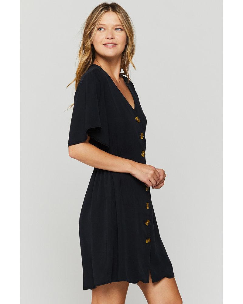 Zevie Flutter Shirt Dress