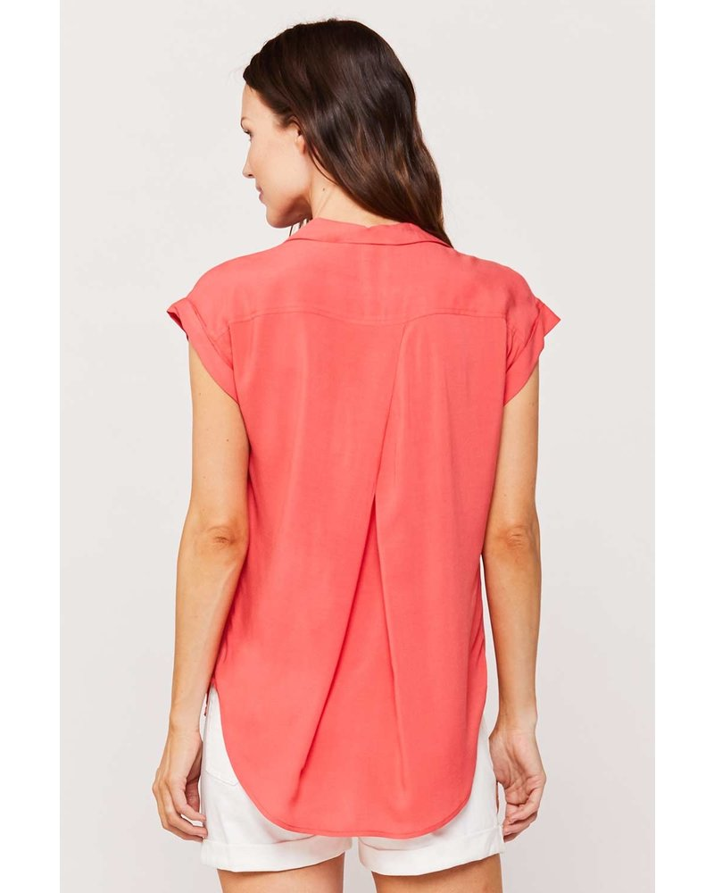 Tinsley Coral Blouse