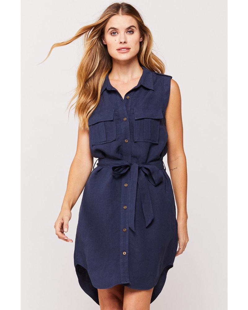 Ruthie Button Up Shirt Dress