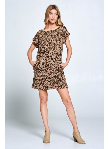 Lazy Leopard Dress