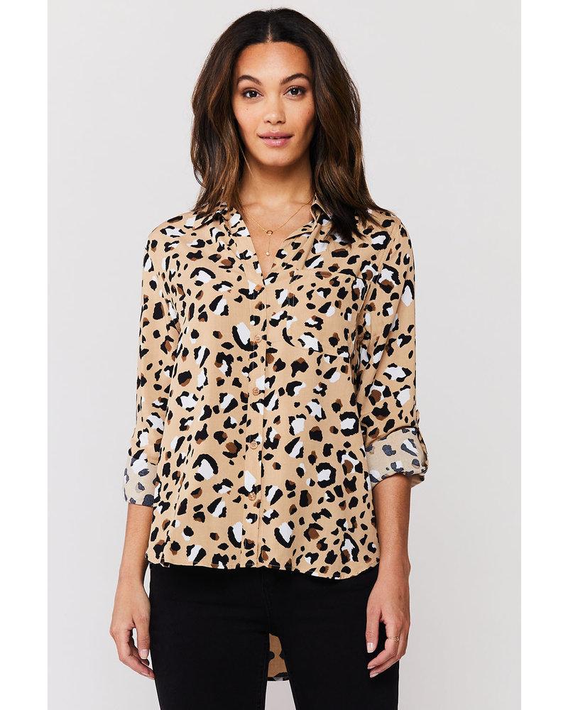Lush Leopard Blouse