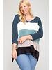 Cami Color Block Sweater