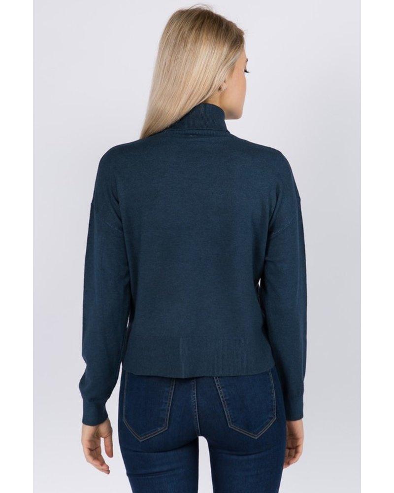 Teagan Turtleneck Pullover