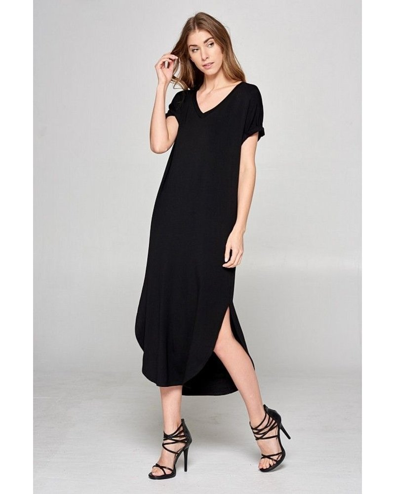 Buttermilk Terry Midi Dress