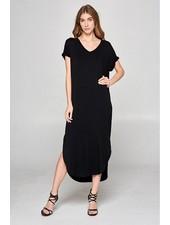 Buttermilk Terry Midi Dress