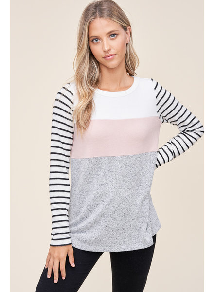 Claire Colorblock Top