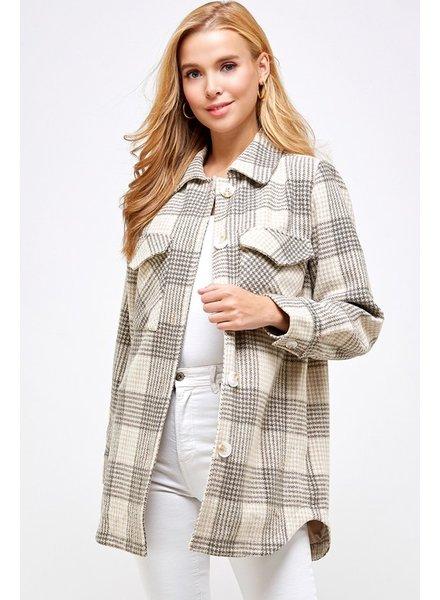 Brisk Walk Flannel Jacket