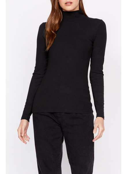 Sanctuary Essential L/S Mock Neck