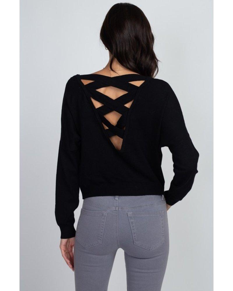 Criss Cross Pullover