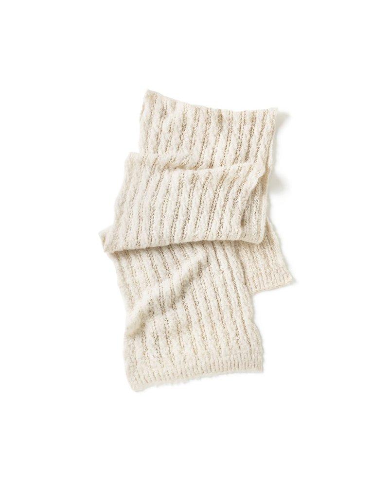 Crochet Ribbed Scarf