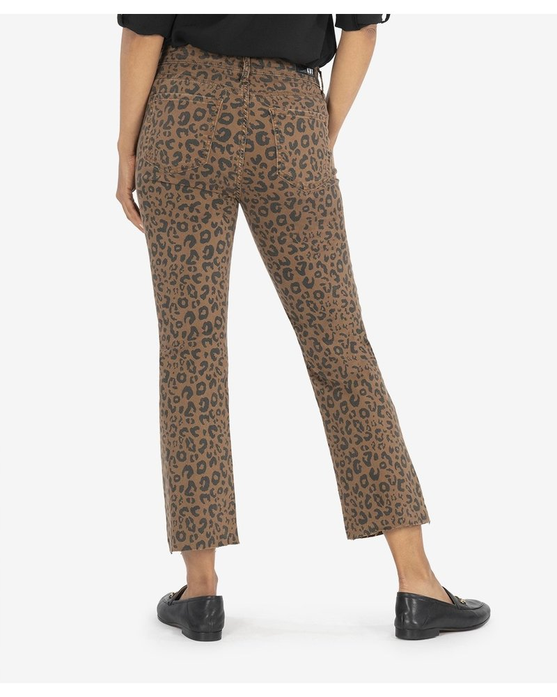 KUT From The Kloth Kelsey Ankle Flare Cheetah