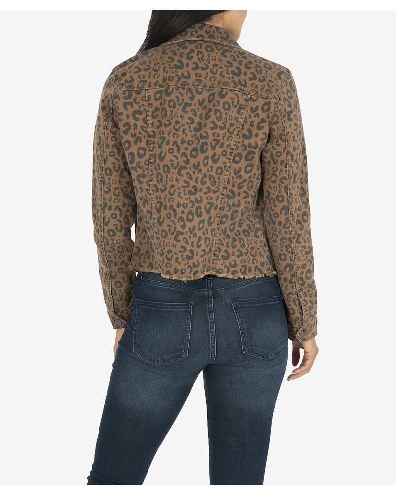 KUT From The Kloth Kara Jacket Cheetah