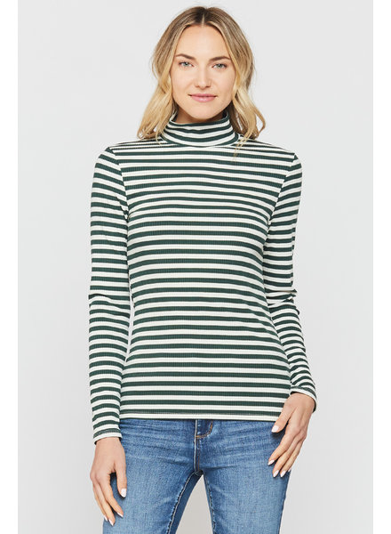 Sadona Striped Turtleneck