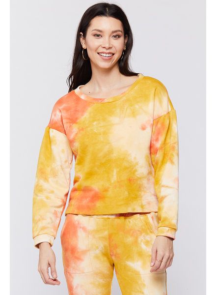 Sunrise Tie Dye Pullover