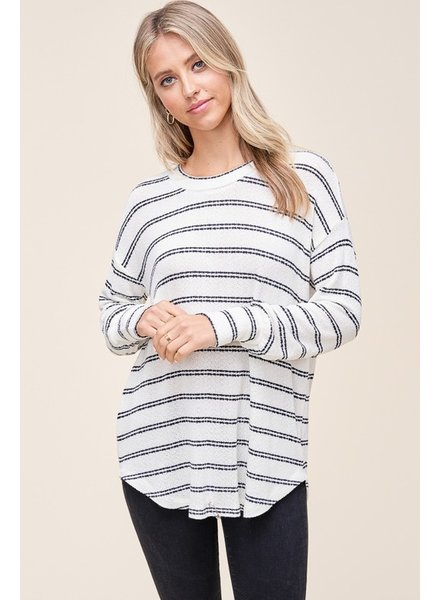 Take Your Time Stripe Top