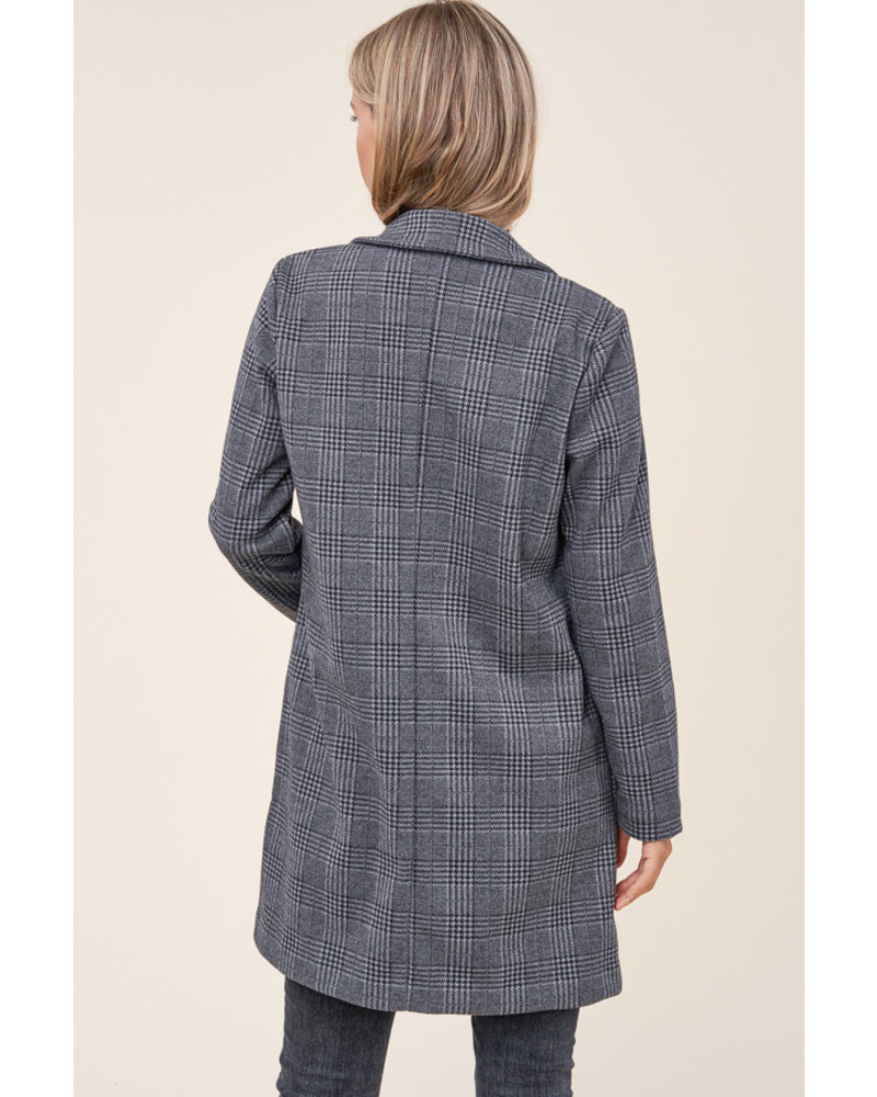 Pick Of The Patch Plaid Coat