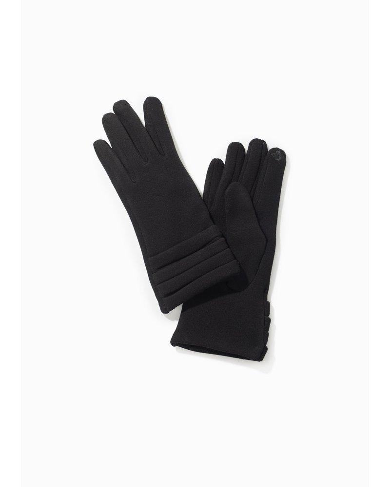 Pleated Trim Gloves
