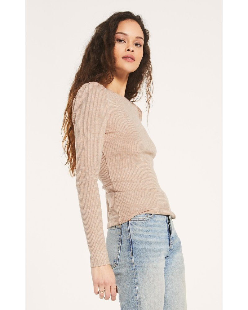 Z Supply Kaiya Rib Top