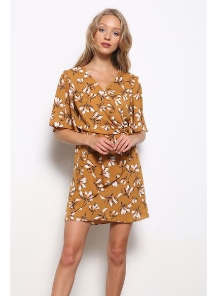 Mittoshop Never Settle Surplice Dress