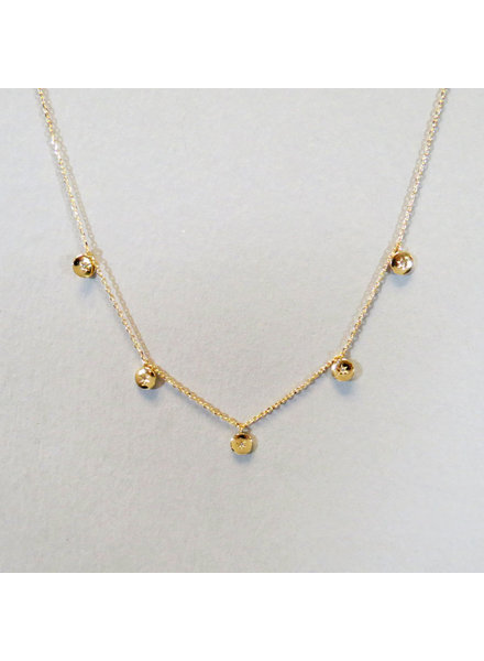 Small Circle Dainty Necklace