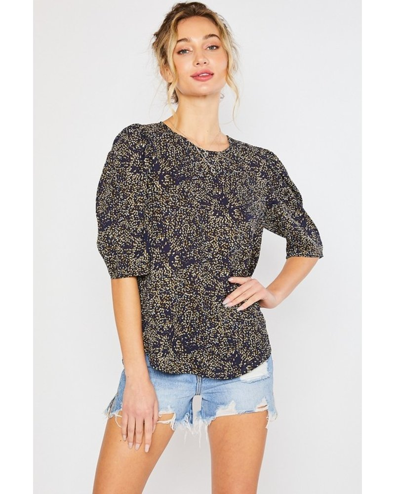 Mittoshop Daisy Dotted Blouse