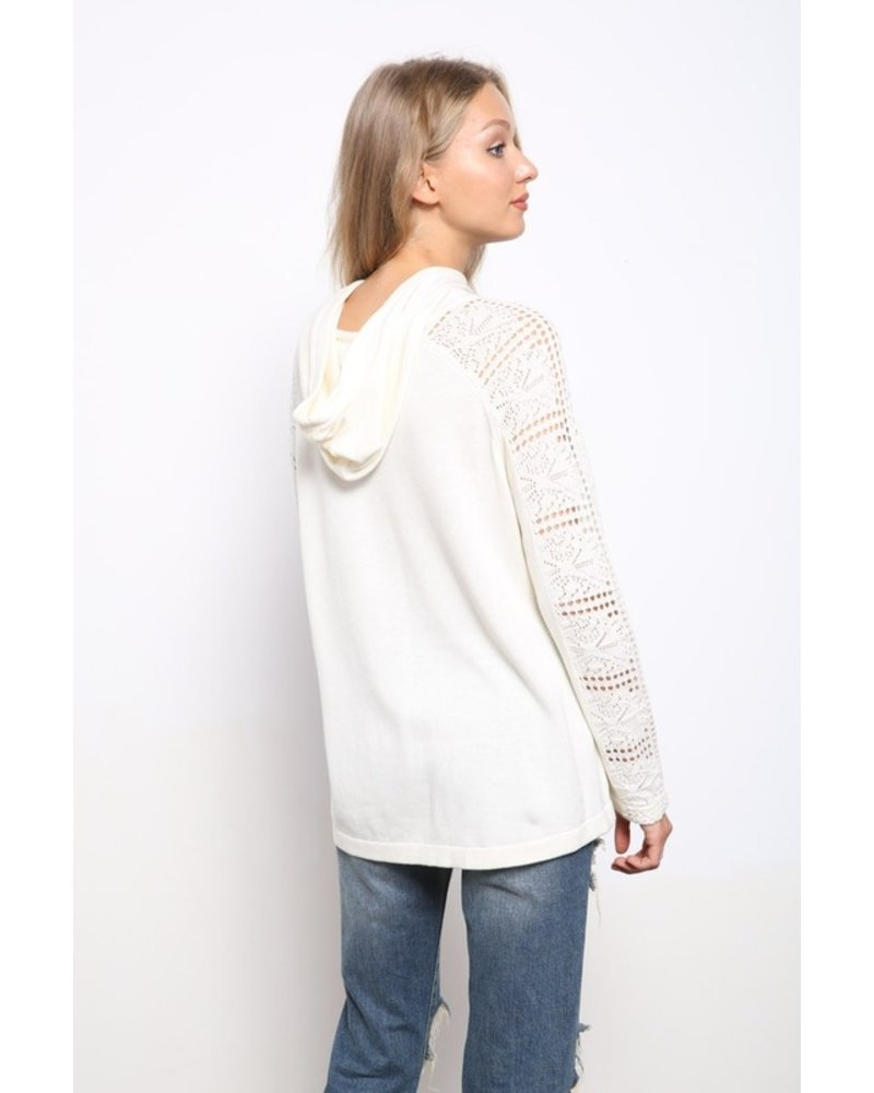 Mittoshop Layla Lace Hoodie