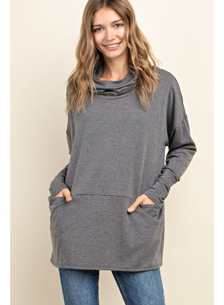 Mittoshop Free Falling Cowl Neck Hoodie