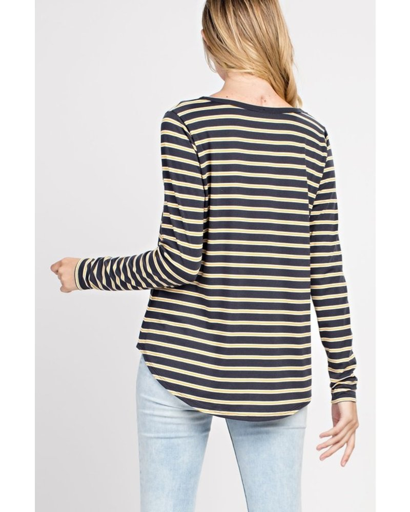 Mittoshop Lights Out Stripe Jersey