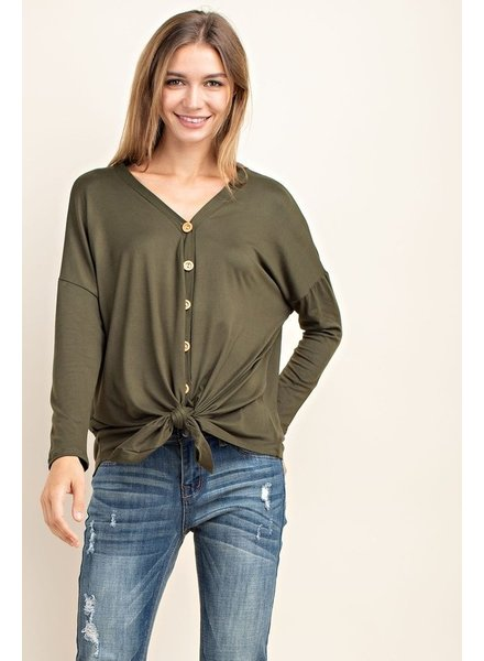 Mittoshop Hot Shot Tie Front Top