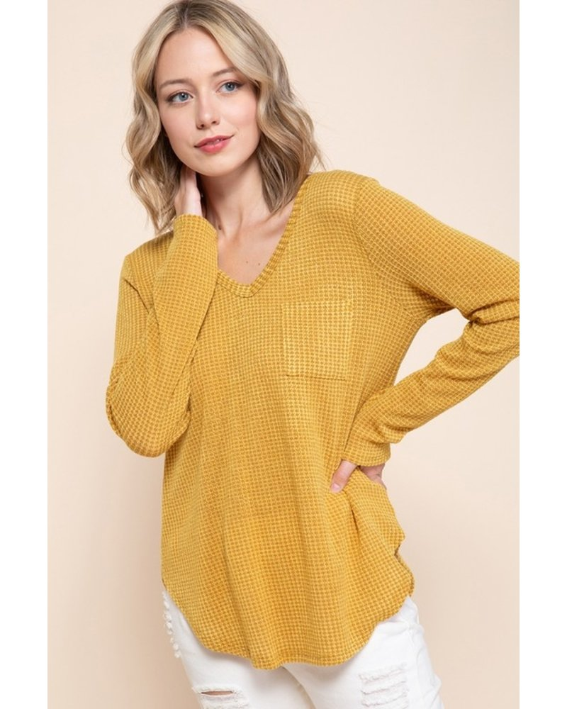 Mittoshop Out Of The Woods Waffle Top