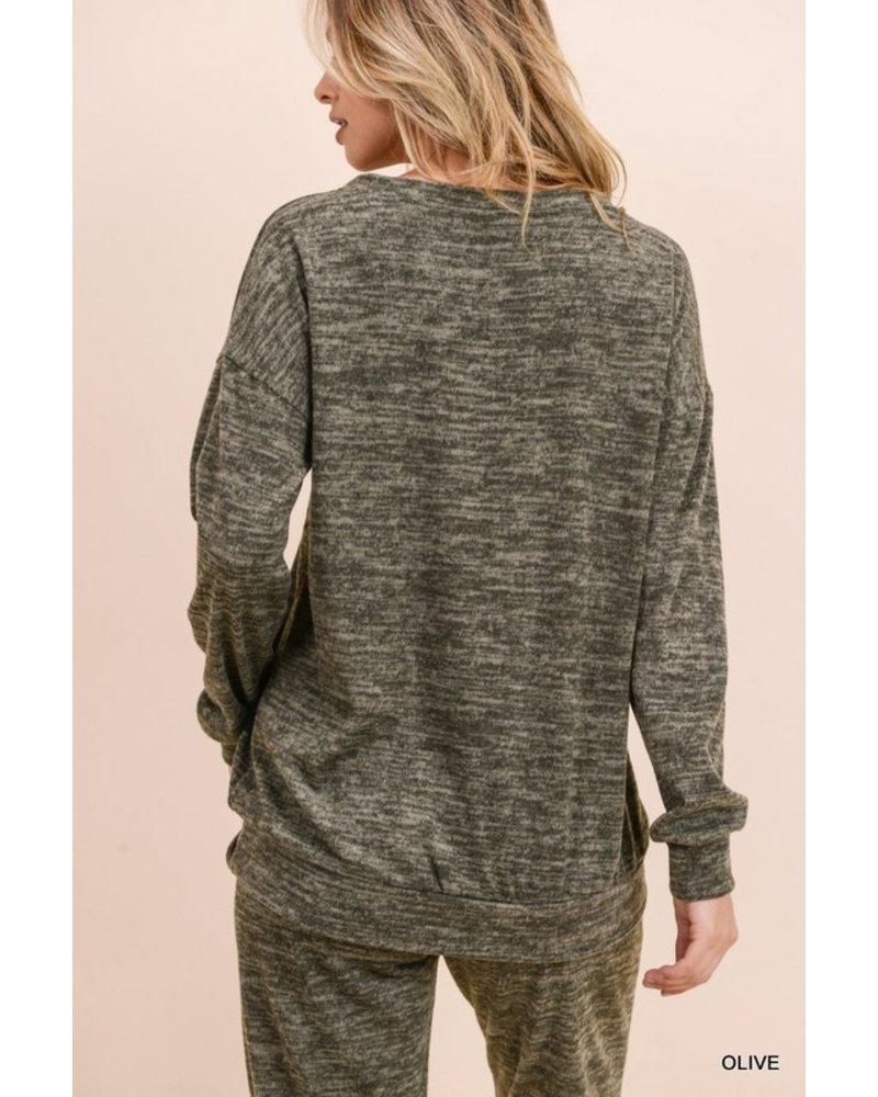 Jodifl Mable Marled Sweater