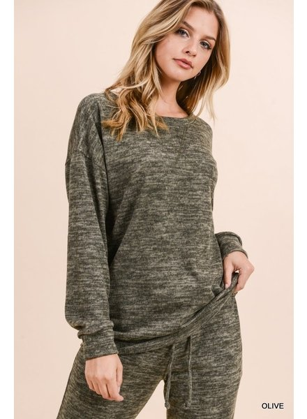 Jodifl Mable Marled Sweater