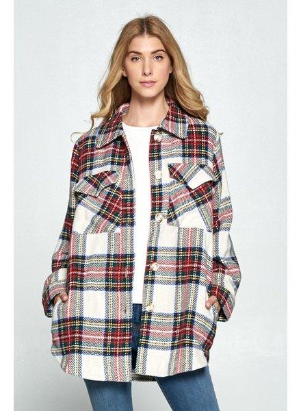 Frosty Flannel Jacket